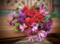 Ramos de flores frescas en Aicante