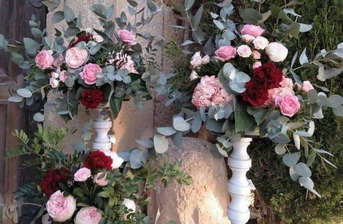 Flores naturales y frescas para decoración de eventos en Alicante.