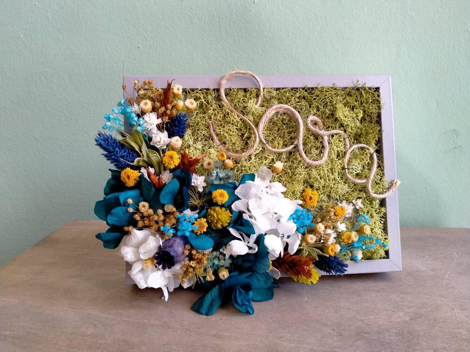 Venta de flores preservadas online.